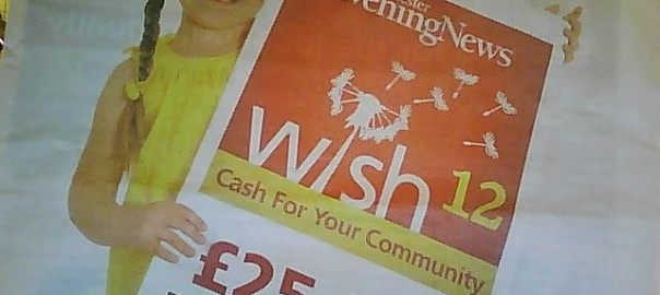 Manchester Evening News Wish token total